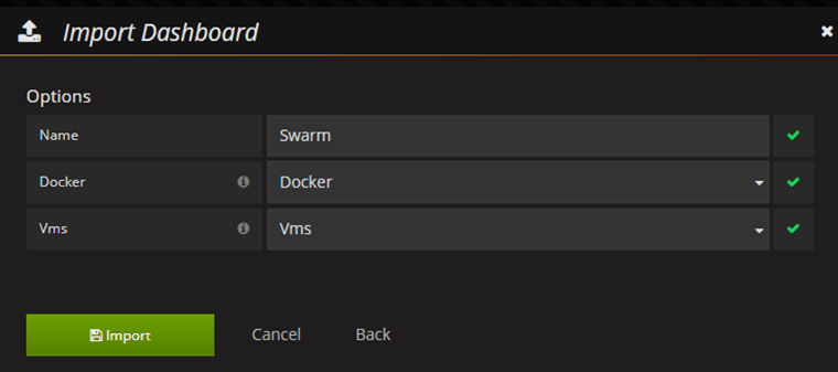 Exploring Swarm Amp Container Overview Dashboard In Grafana